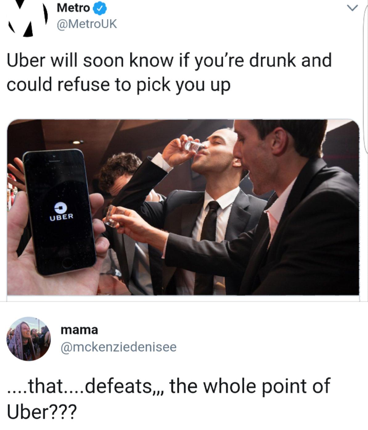 entertaining Uber Memes