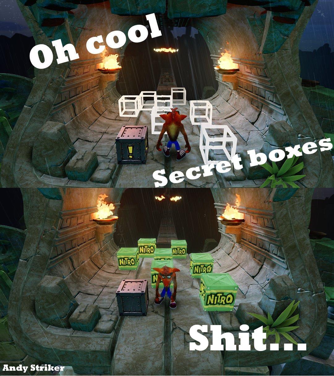 high-spirited Crash Bandicoot Memes