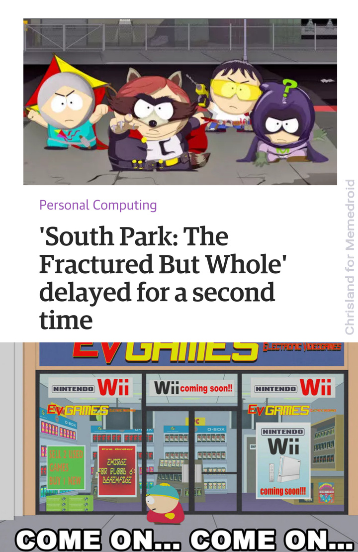 high-spirited South Park Memes