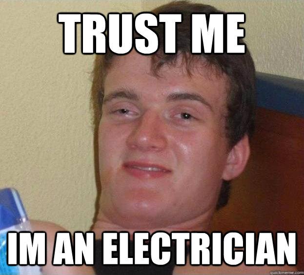 humorous Electrician memes