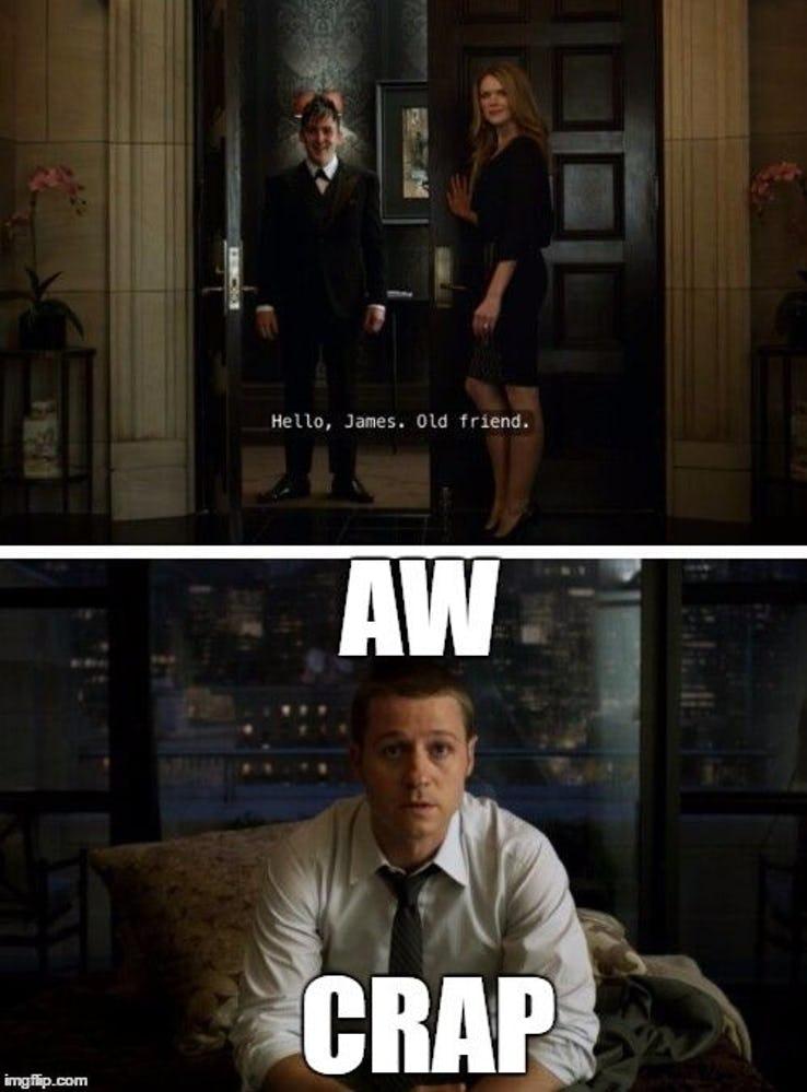 humorous Gotham memes