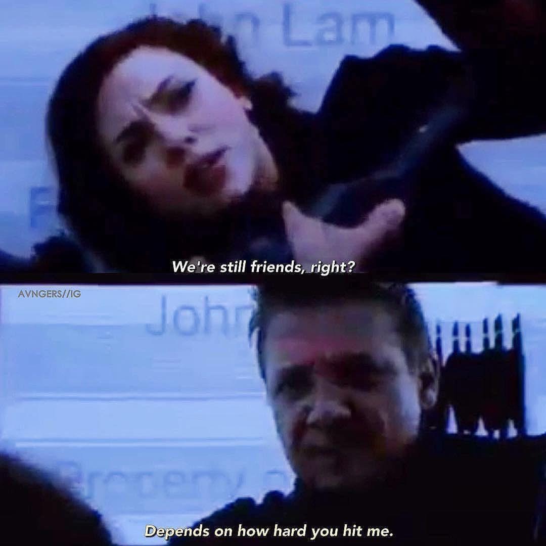 humorous Hawkeye meme