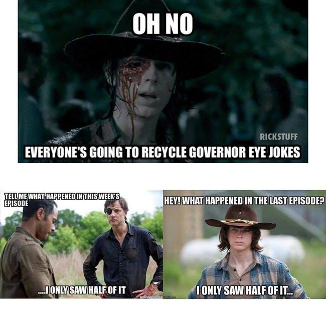 humorous The walking dead memes
