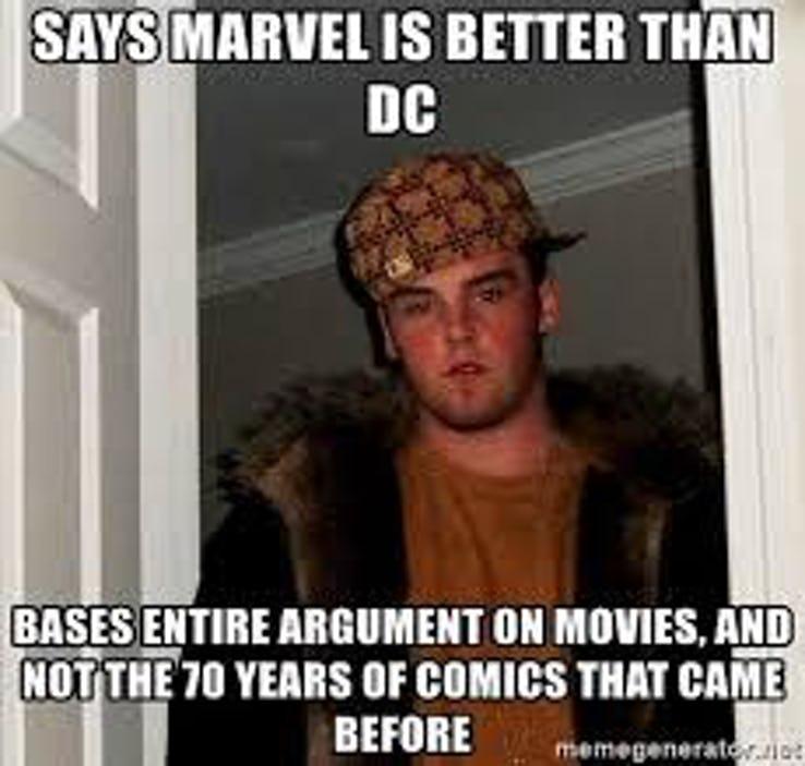jolly DC VS MARVEL Memes