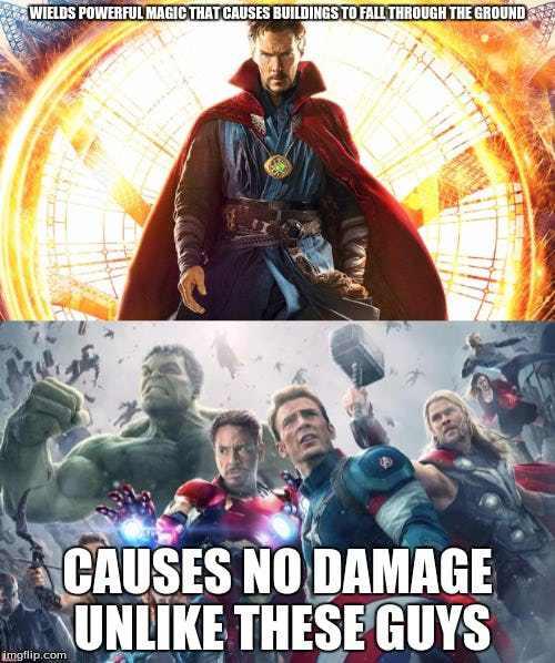 laughable Avengers meme