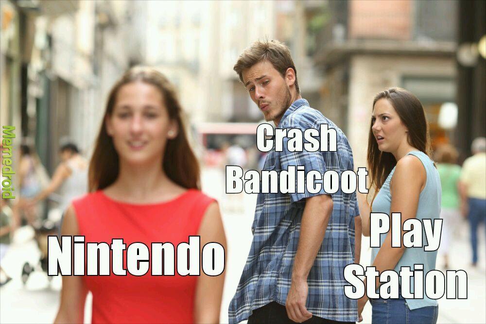 laughable Crash Bandicoot Memes