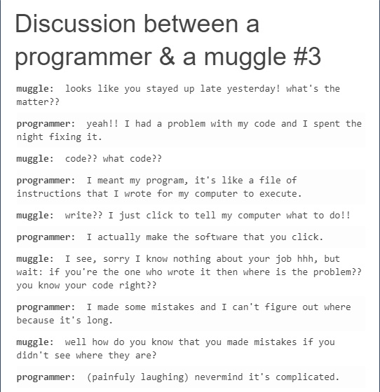 laughable Programming Memes