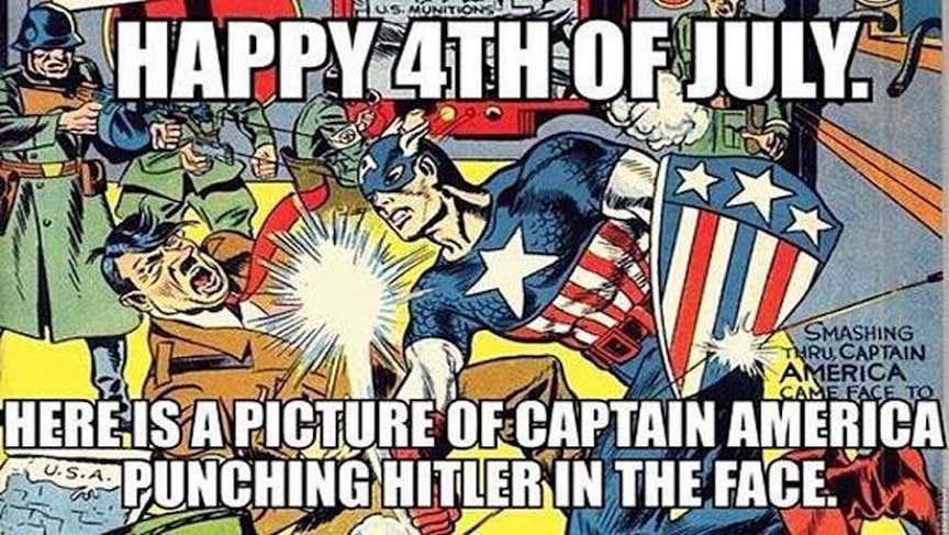 lively Captain America meme