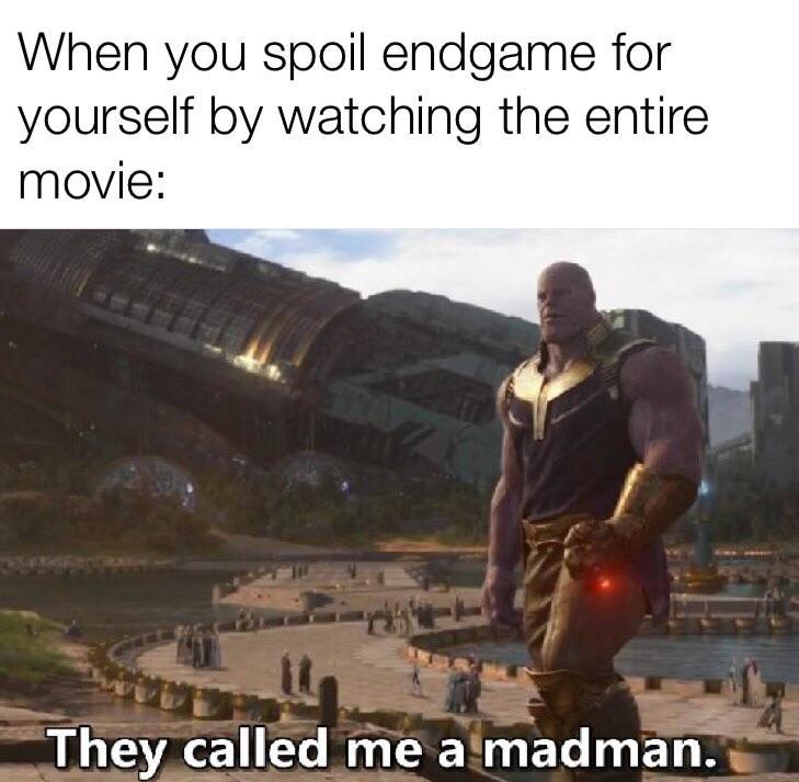 lively Endgame meme