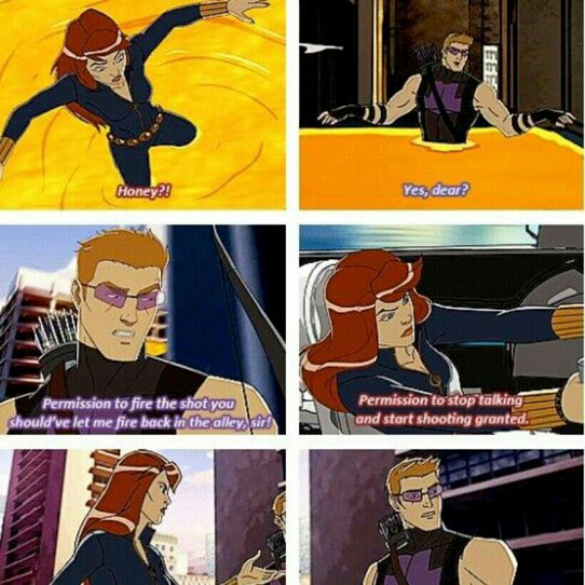 lively Hawkeye meme