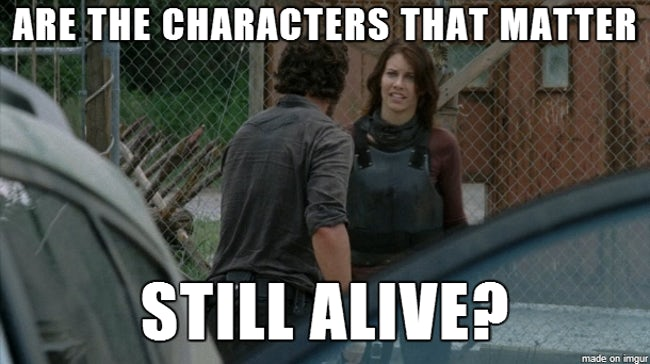 lively The walking dead memes