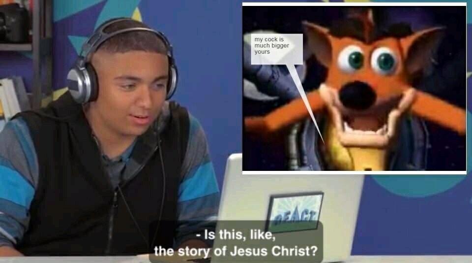 rib-tickling Crash Bandicoot Memes