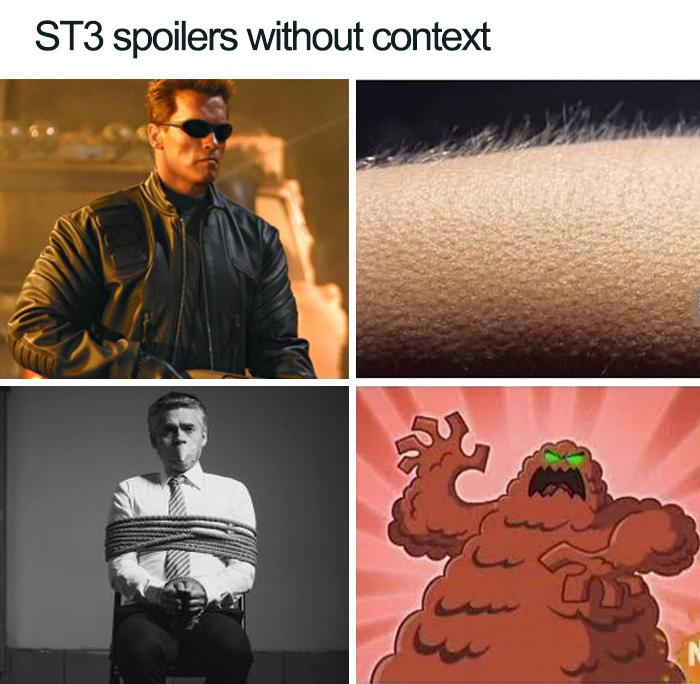 rib-tickling Stranger things memes