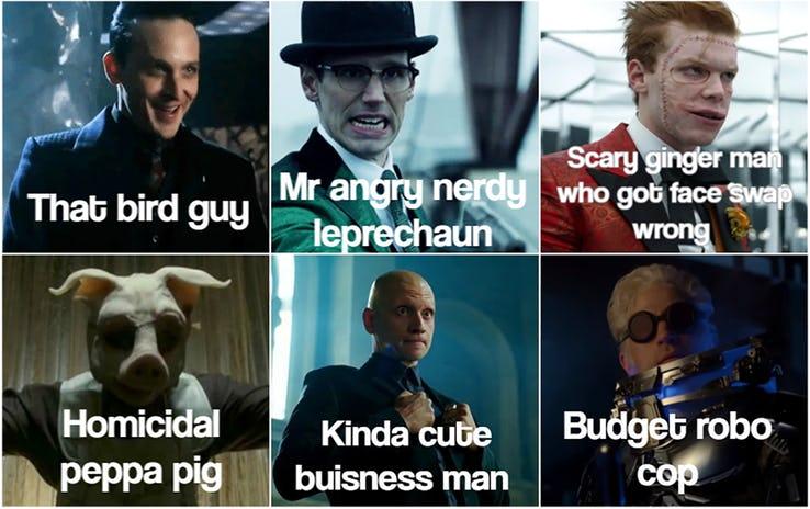 sparkling Gotham memes