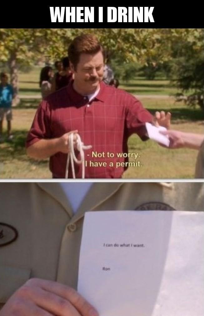 Funny Ron swanson memes