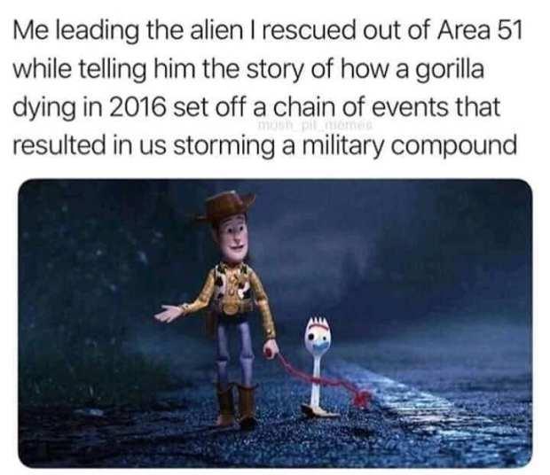 Funny area 51 memes