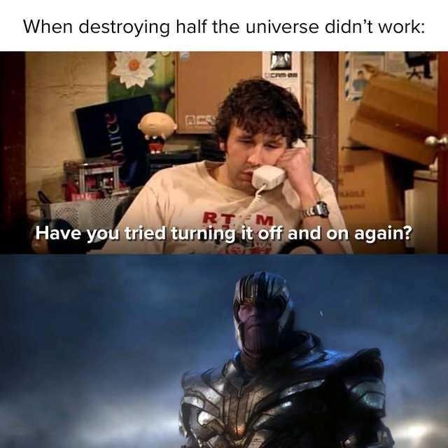 Funny avengers endgame memes