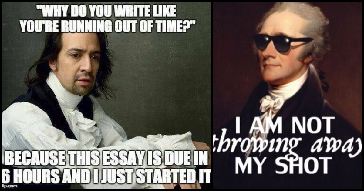 75 Funny Hamilton Memes For All Music Lovers Geeks On Coffee