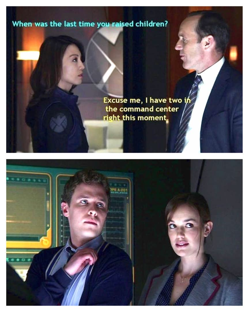 Hilarious Agents of Shield memes