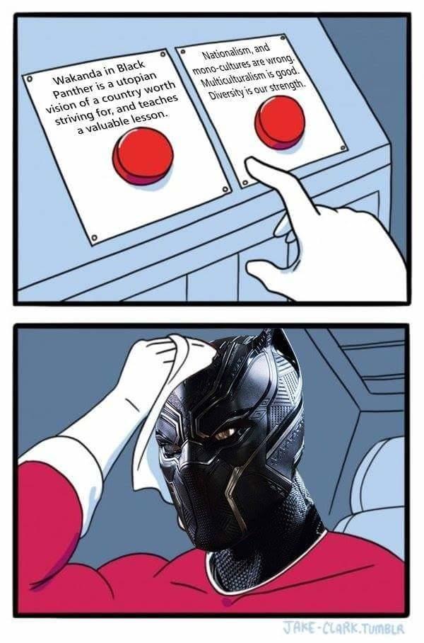 Hilarious Black panther memes