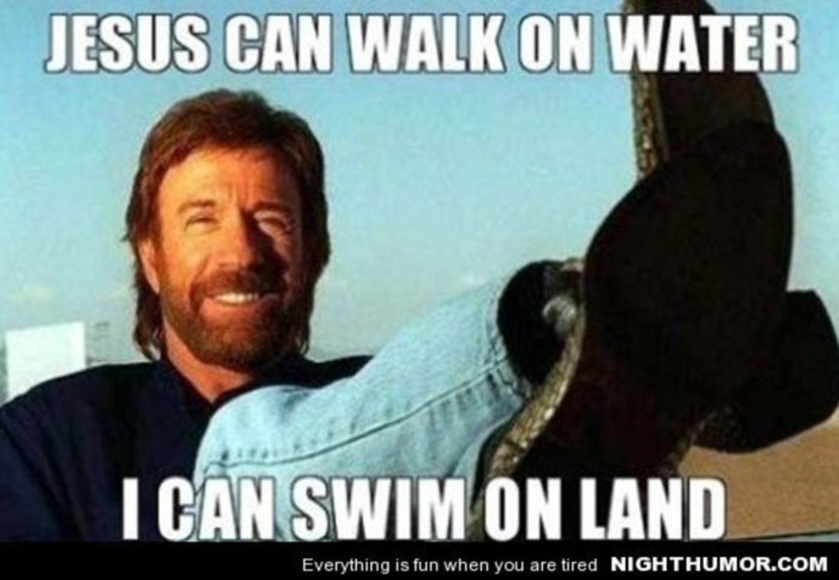 Hilarious Chuck norris memes