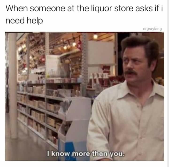 Hilarious Ron swanson memes