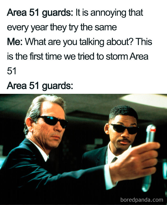 Hilarious area 51 memes