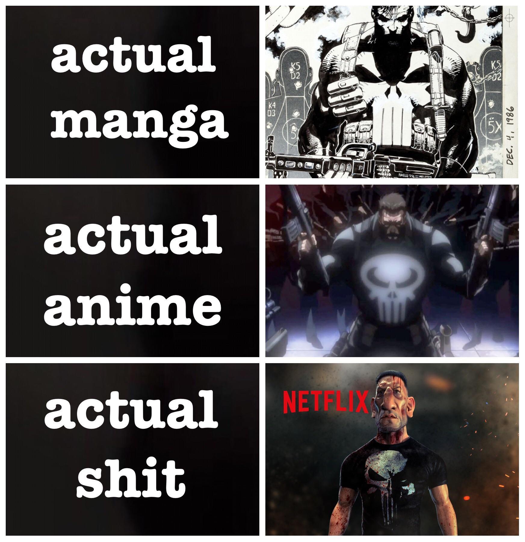 Hilarious punisher memes