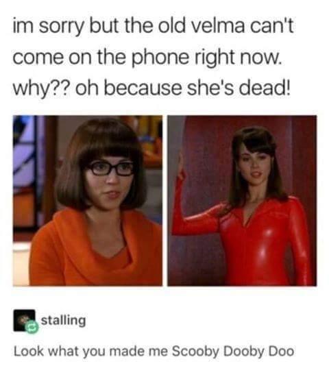 Hilarious scooby doo memes
