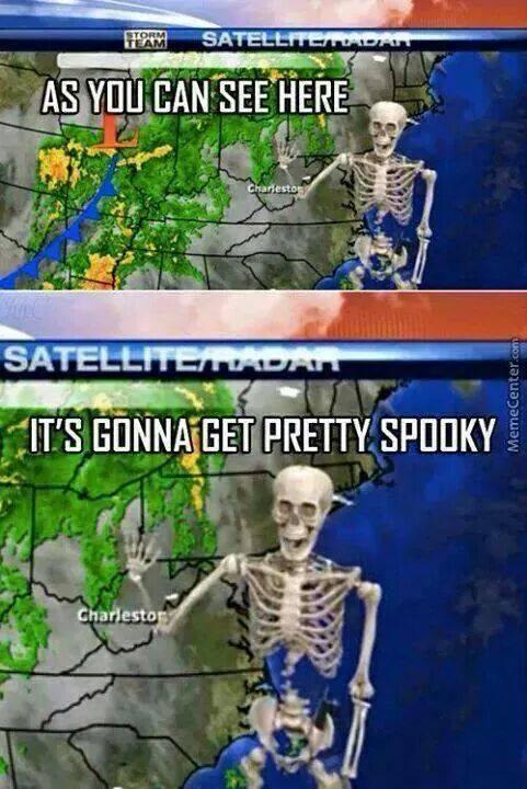 Hilarious spooky memes