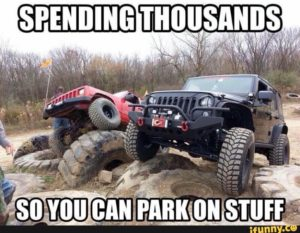 Rib tickling jeep memes