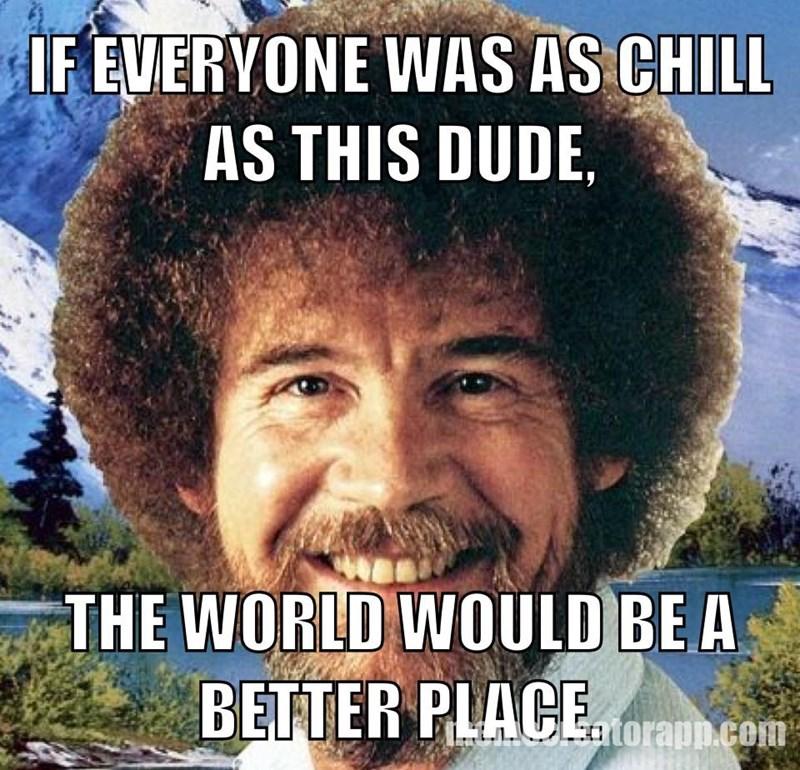 amusing bob ross memes