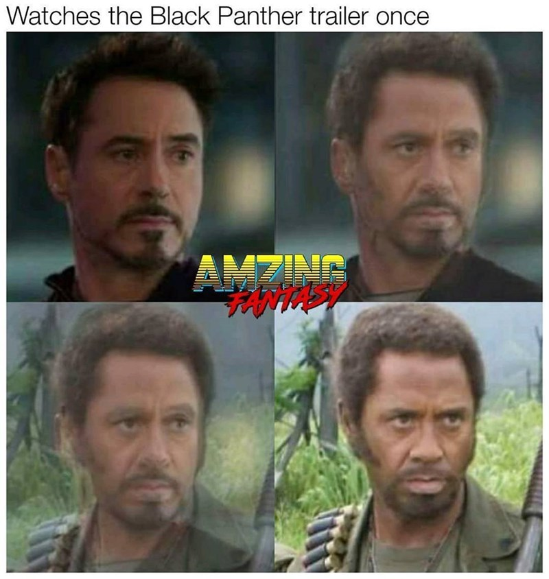 animated Black panther memes