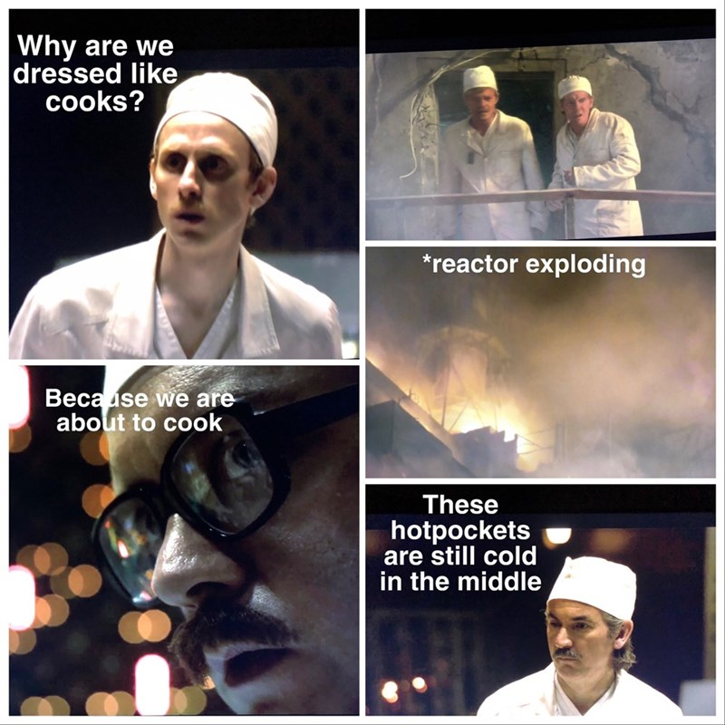 animated Chernobyl memes