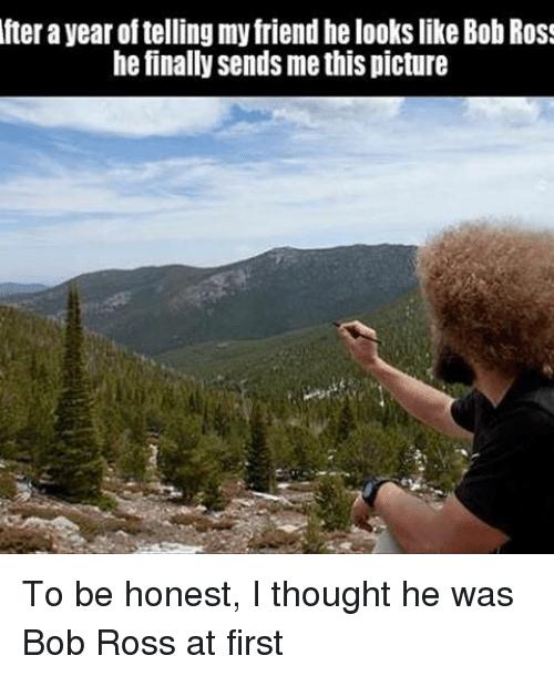 animated bob ross memes