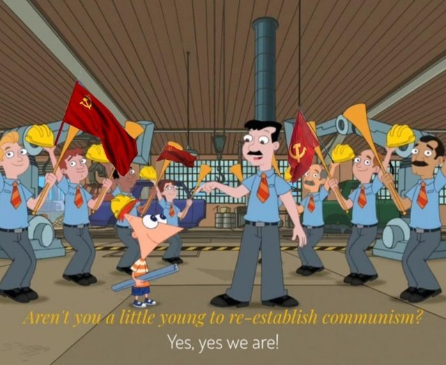 cheerful Communist memes