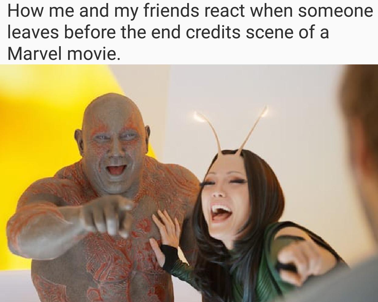 cheerful Drax memes