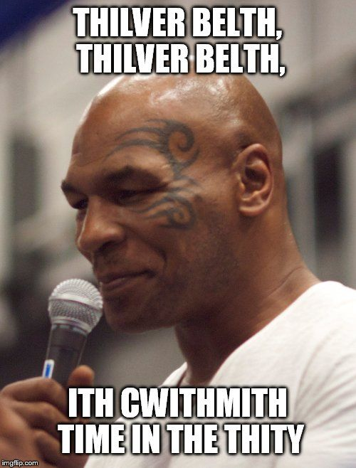 cheerful Mike tyson memes