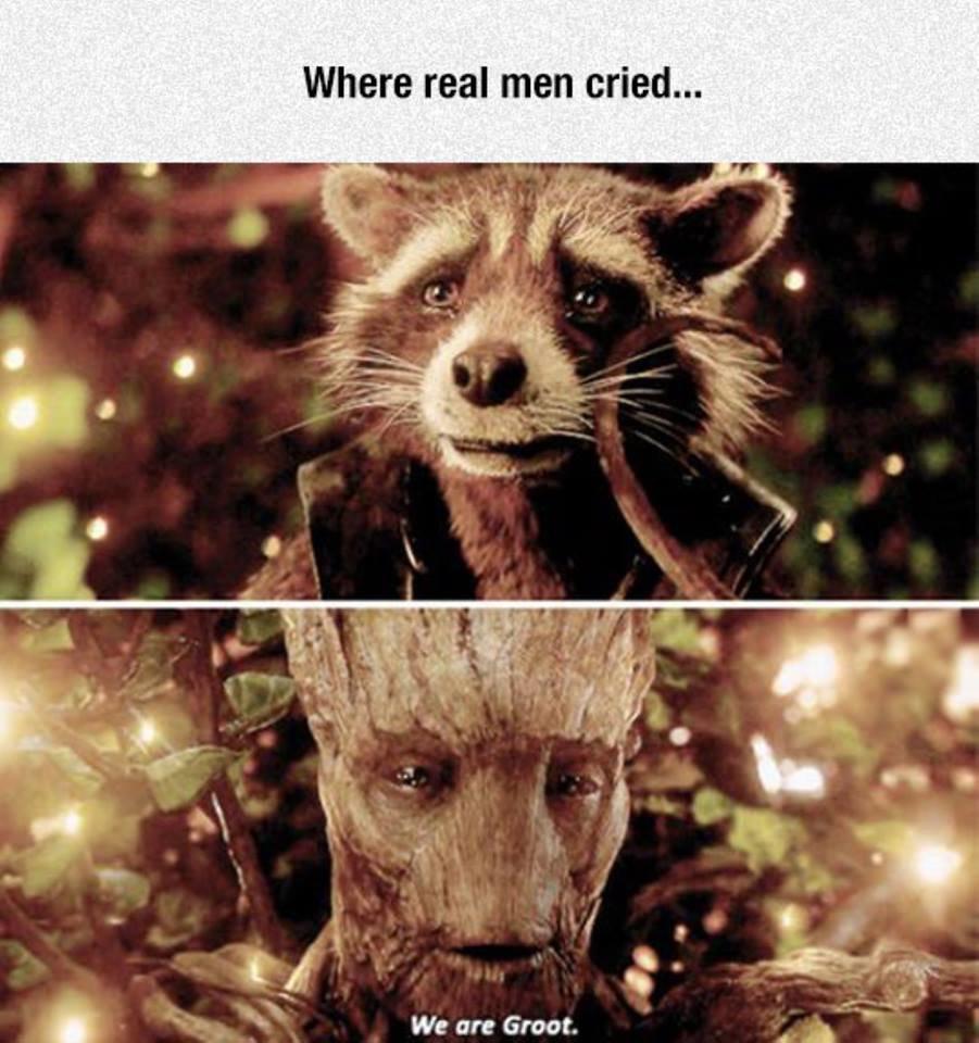 cheerful Rocket raccoon memes