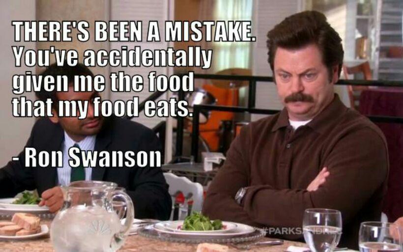 cheerful Ron swanson memes