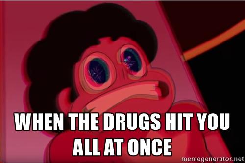 cheerful Steven universe memes