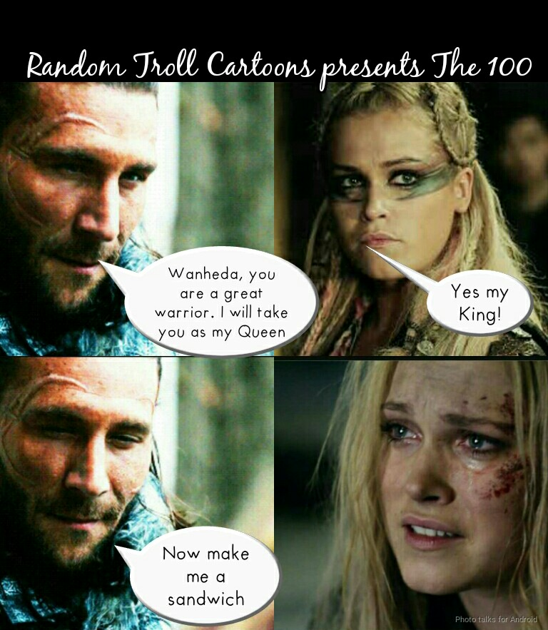 cheerful The 100 memes