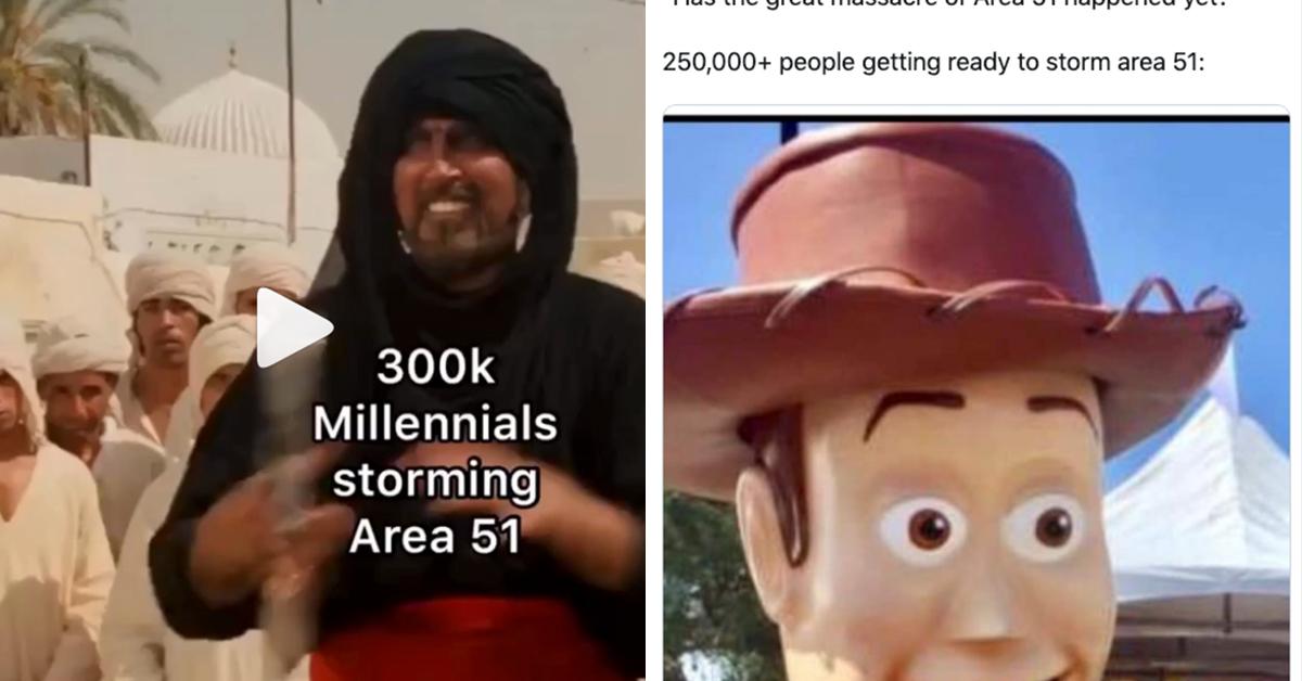cheerful area 51 memes