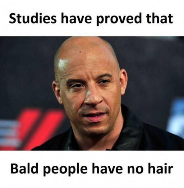 cheerful bald memes