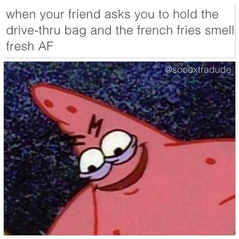 cheerful patrick memes
