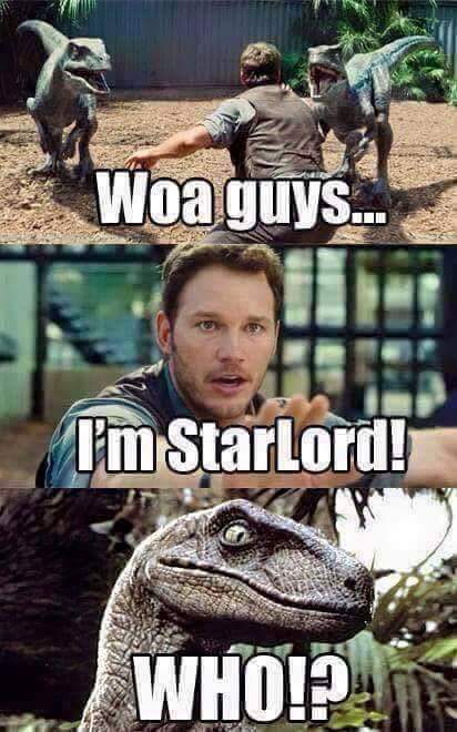 cheerful star lord memes