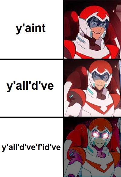 cheerful voltron memes