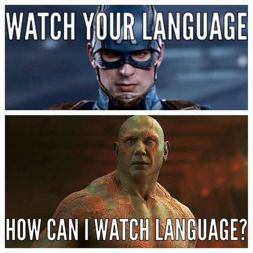 chucklesome Drax memes
