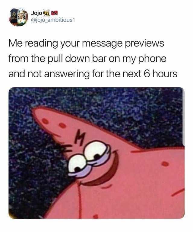 chucklesome Evil patrick meme
