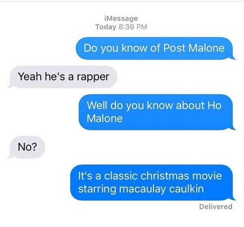 chucklesome Post malone memes